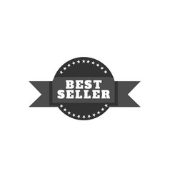 vintage bestseller icons vector image