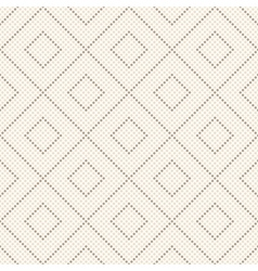 Seamless geometrical pattern Repeating tiles vector image