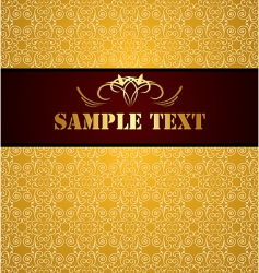 vintage background and banner vector image vector image