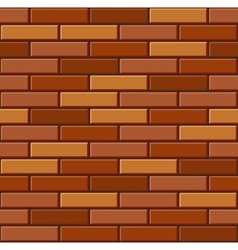 Seamless Old Brick Wall Pattern vector image
