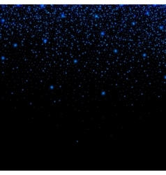 Abstract background with neon glitter particles vector