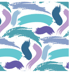 abstract pattern brush stroke background vector image