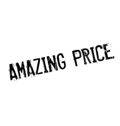 Amazing price rubber stamp vector