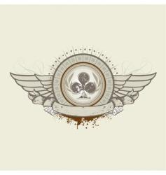 club suit emblem vector image
