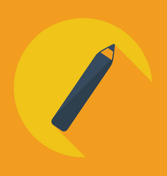 Flat modern design with shadow icon eyeliner vector
