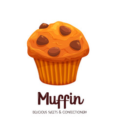 Muffin icons vector