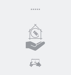 project design concept - flat minimal icon vector image