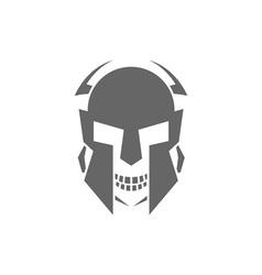 robot-skull vector image