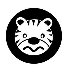 Tiger icon vector