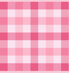 valentines day tartan plaid pattern scottish cage vector image