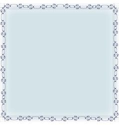 blank frame banner template vector image