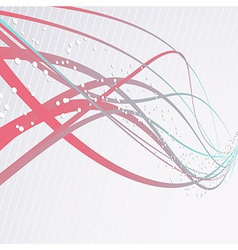 Speed waves modern background vector image vector image