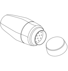Cocktail Shaker vector image