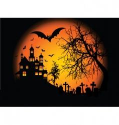 Halloweenbackground vector image