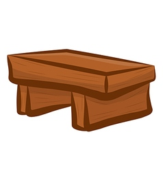 wood Chair vector image vector image