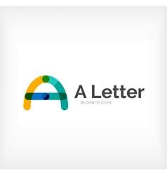 Abc letter logo vector image