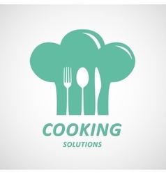 Cooking ideas symbol vector image