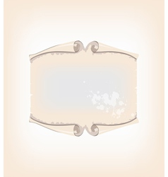 decorative horizontal template vector image