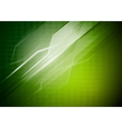green technical background vector image
