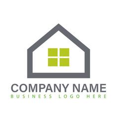 home logo image vector image
