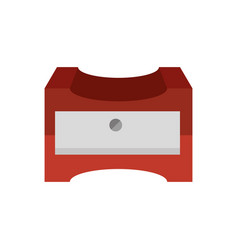 Pencil sharpener symbol vector
