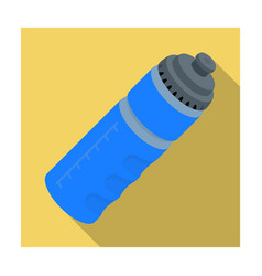 sports bottle with water water balance in vector image