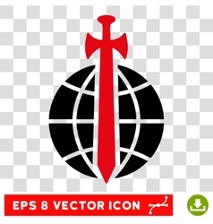 Global Guard Eps Icon vector image