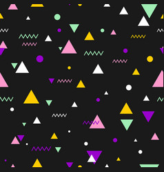 80s or 90s tile pattern vector image