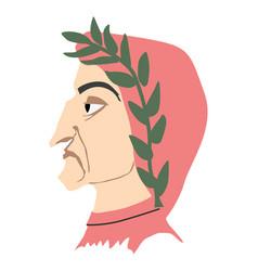 Dante alighieri vector