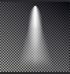 stage light ray spotlight transparent effe vector image