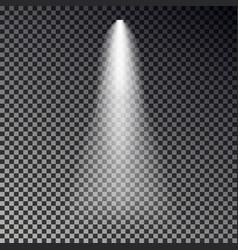 Stage light ray spotlight transparent effe vector