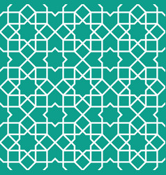 traditional islamic ornament vector image