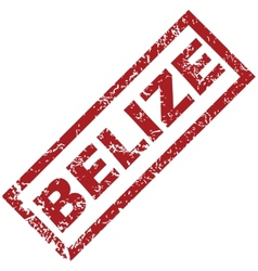 New Belize rubber stamp vector