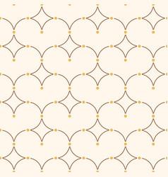 seamless minimalistic pattern vector image