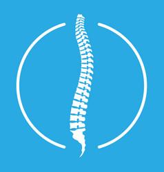 Spine icon vector