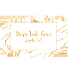 white and gold design template for party vector image