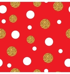 Festive Seamless Pattern Gold vector image vector image