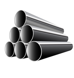 Steel Pipes vector image vector image