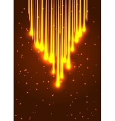 Abstract shining optic fiber background vector