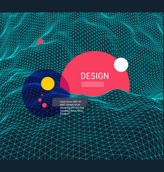 Abstract science or technology background graphic vector