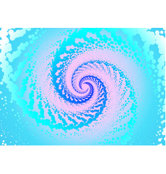 abstract twist background vector image