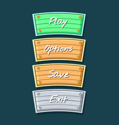 app graphical user interface cartoon collection vector image