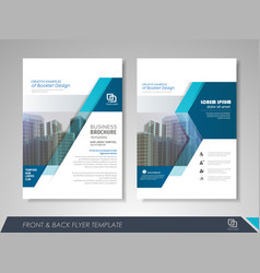business flyer presentation vector image