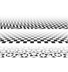 Tiles perspective vector