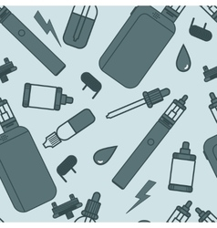 vaping pattern vector image