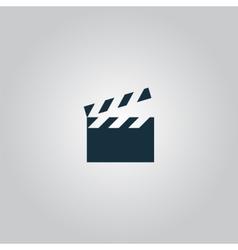 movie film icon vector image