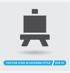 art board icon simple sign for web site and vector image