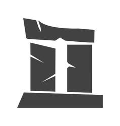 Broken Pillar vector