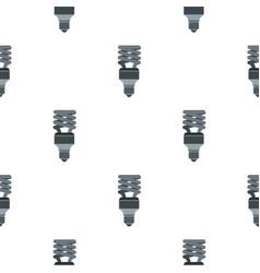 Energy saving lamp pattern seamless vector
