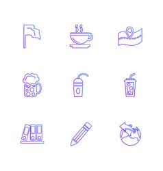 Food shopping food items crockery health eps vector
